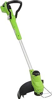 Greenworks Tools G24LT28 Cortabordes para exterior, 24 V, Verde, negro, gris, 28cm