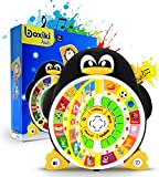 """Boxiki kids Penguin Power ABC Learning Educational Toy Learning Game Center Boosts Core Pre-Kindergarten Subject Comprehension. Learning Toys for ABCs, Words, Spelling, Shapes, """"Where is?"""" & Songs"""