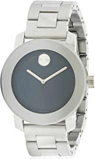 Movado Bold 3600396 Blue Dial Stainless Steel Case & Strap Unisex Watch