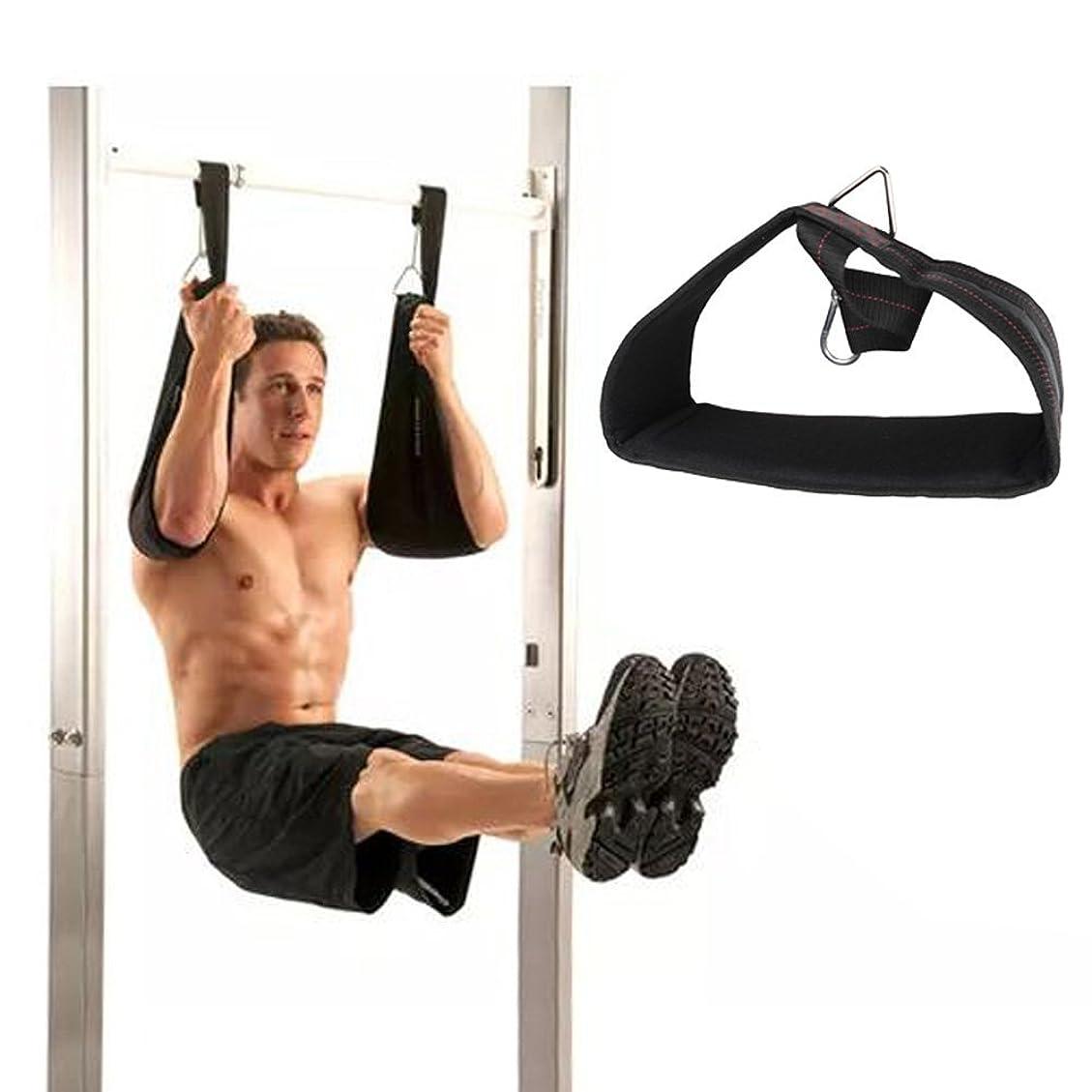 フォロー偏差蒸し器アブストラップ 腹筋トレーニング 2個セット エクササイズバンド 割れた腹筋を目指せ!