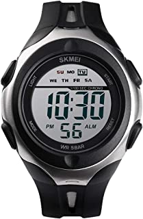 Andoer 1492 Men Watch Analog Digital Electronic Watch Fashion Casual Outdoor Sports Male Wristwatch 3 Time Display Alarm S...