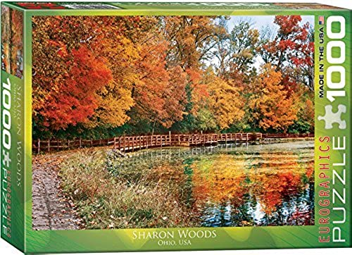 EuroGraphics Sharon Woods, Ohio Puzzle (1000-Piece) by EuroGraphics