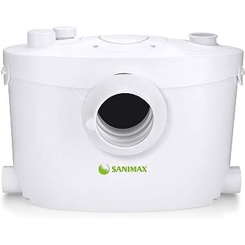 WC Broyeur Pour Eliminer Les Eaux Us/ées,3//1 Station Pompe de Relevage Pour WC Lavabo 400W,Silencieuse Hengda Broyeur Sanitaire