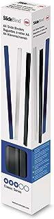 GBC 46005E Pack de 25 Baguettes à Relier A4 7 mm Noir
