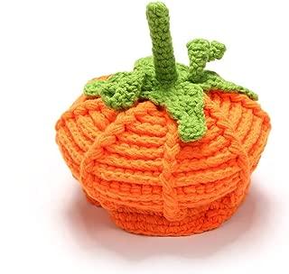 Halloween Pumpkin Knit Hat Unisex Toddler Crochet Hat Baby Cute Costume