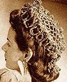Frilly Pompadour Hat Cap Vintage Crochet Pattern EBook Download