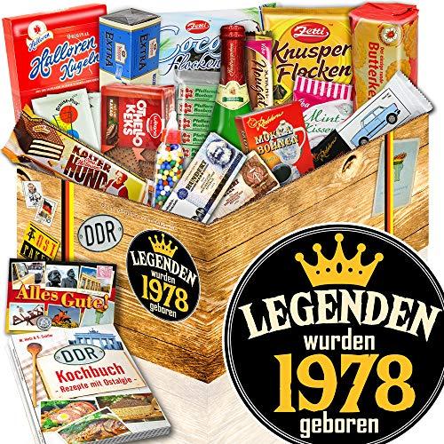 Legenden 1978 ++ Kultset DDR Süßigkeiten ++ Geboren 1978