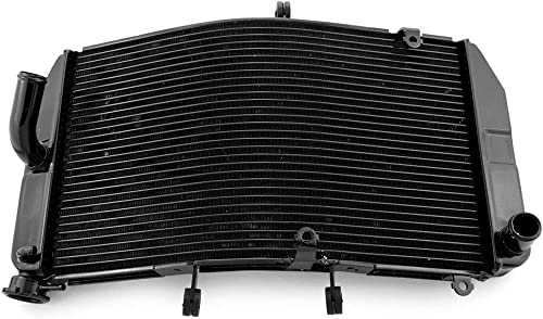 discount Mallofusa Motorcycle Aluminum Radiator Cooling Cooler Replacement outlet sale Compatible for Honda CBR600RR F5 2003 2004 new arrival 2005 2006 Black online