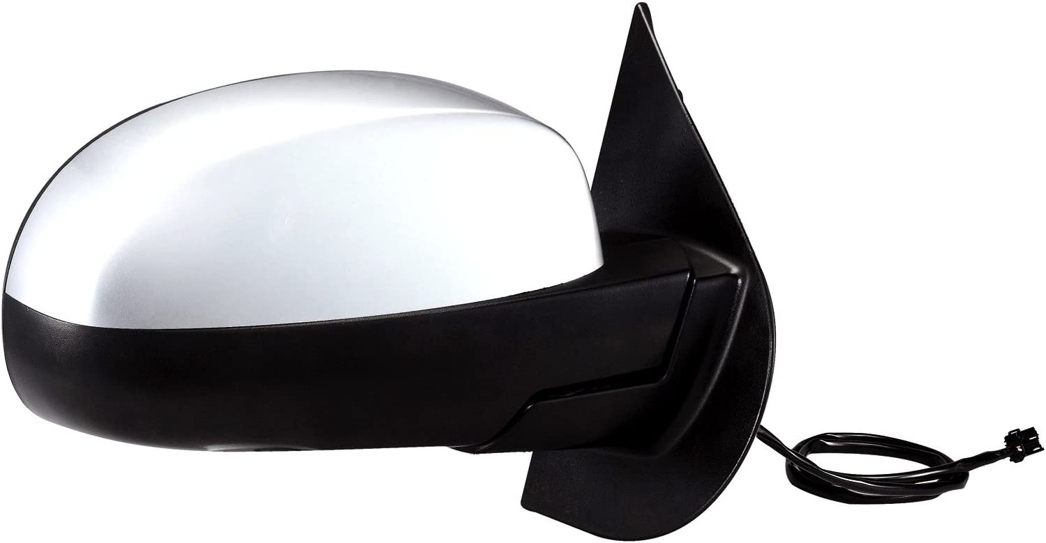 Black Fit System 60551C Dodge Neon Passenger Side Replacement OE Style Power Folding Mirror