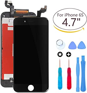 ibaye Screen Replacement LCD Display Design Compatible iPhone 6S Black 4.7 inch Touch Screen Digitizer Frame Assembly Full Set Repair Guide