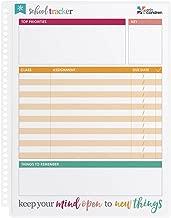 Erin Condren School Tracker Wet Erase 7.5x9 Dashboard