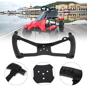 Go Kart Steering Wheel,Butterfly Shape Steering Wheel Riding Go Kart Cart Racing Replacement Wheel