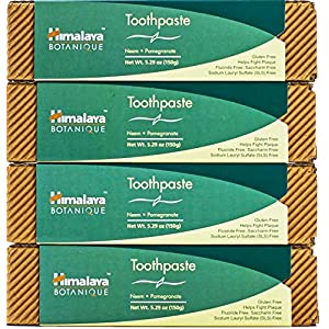 Himalayn Neem And Pomegranate Toothpaste 4 Pack