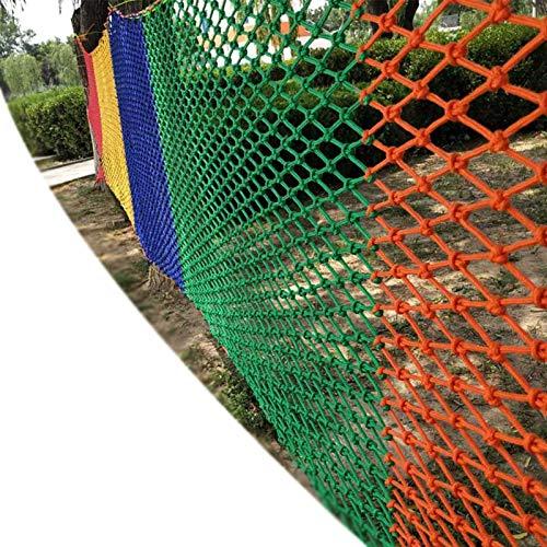 MAHFEI Red De Seguridad para Niños, Red De Seguridad para Balcones Barandilla Pasamanos Red Red De Escalada Color Playground Red De Pesca Decorativa Cerca De Jardín Red De Remolque De Carga