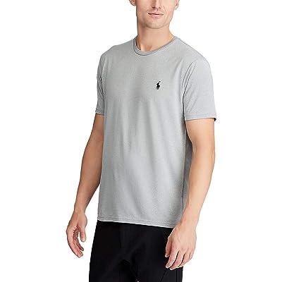 Polo Ralph Lauren Big & Tall Big Tall Perf Poly Jersey T-Shirt (Andover Heather) Men