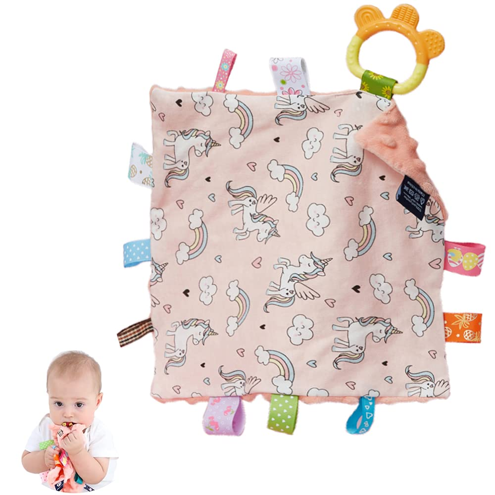 Baby Max 50% OFF Tags Security Blankets Washington Mall - with Blanket Plush C Soothing