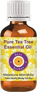 Deve Herbes aceite esencial puro de árbol de té (Melaleuca alternifolia), 15ml, producto terapéutico 100% natural