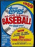 1989 Topps Baseball Cards Unopened Hobby Pack (15 cards per pack) [Misc.]