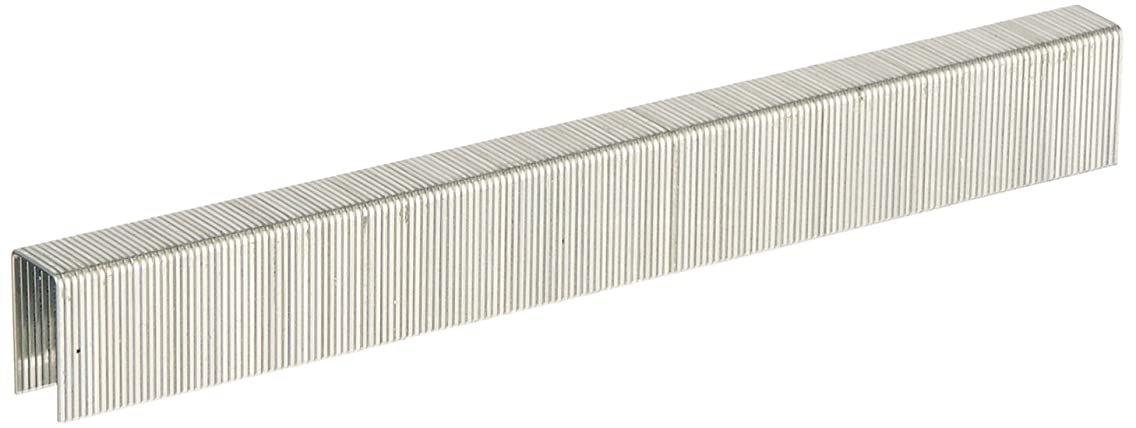 meite 22 Guage 71 Series 3/8-Inch Crown By Leg Length 5/8-Inch Galvanized Fine Wire Staples or Upholstery Staples(10020pcs/Box)