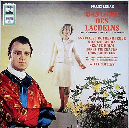 Lehar: Das Land des Lächelns (Gesamtaufnahme: Muenchen 1967) [Vinyl Schallplatte] [2 LP Box-Set]