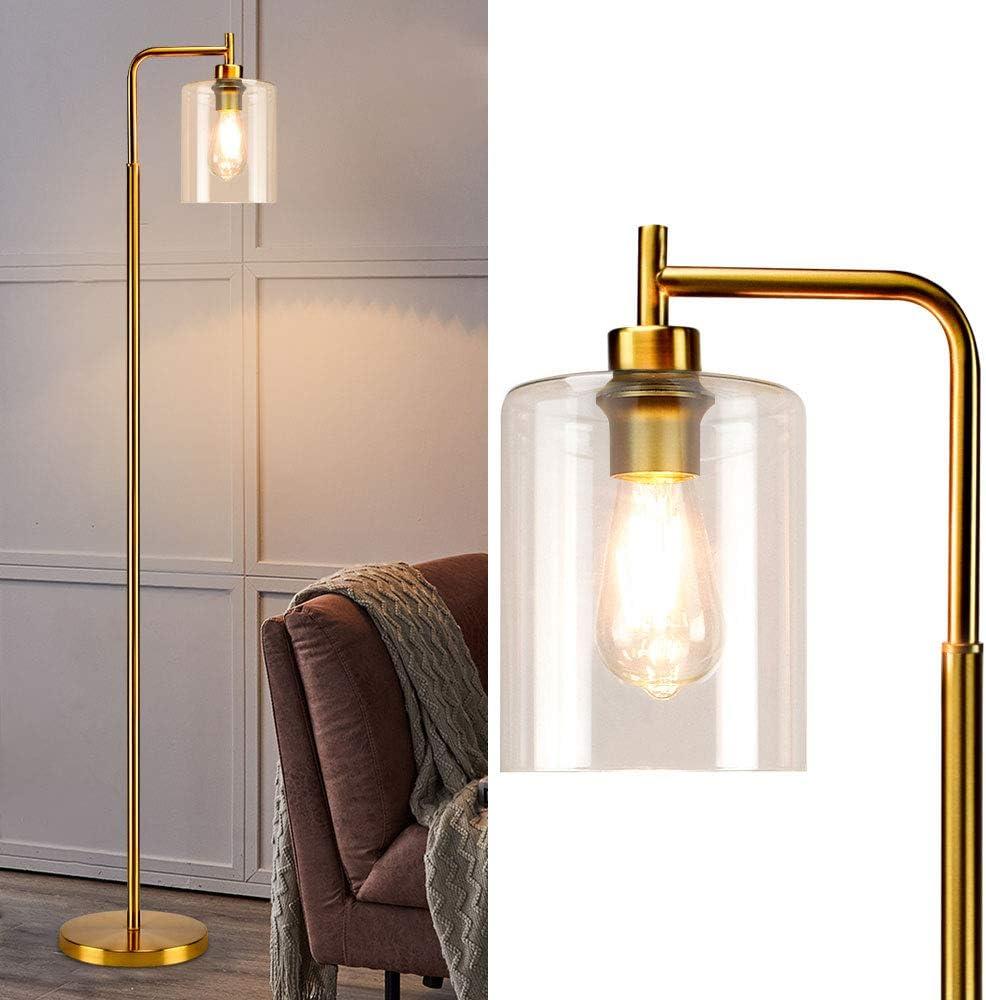 DLLT Modern Floor Lamp Metal Reading Light with Hangi Pole Tall Fresno Mall Ranking TOP18
