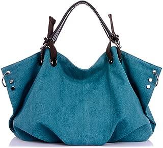 Tricherry Female Handbag Women Large Canvas Casual Tote Messenger Bags Hobo Grandes Shoulder Bag