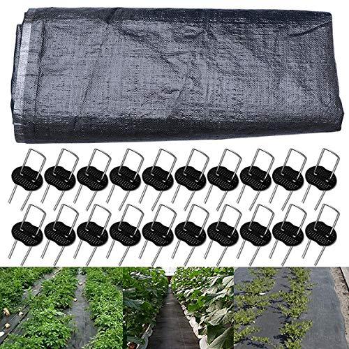 Unkrautvlies Anti-Unkrautgewebe Barriere Landschaft Stoff Gartenvlies Bodendecker für Stabilisierung Unkrautfolie Unkraut und Anti UV