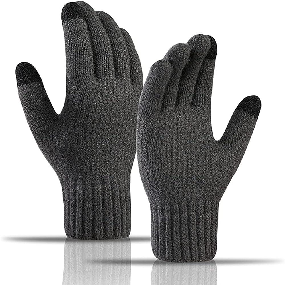 Avilego Men's Touch Screen Gloves Outdoor Wool Riding Bombing Memphis Mall free shipping Winter War