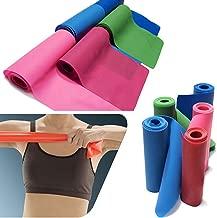 Gleader 1.5m Fascia elastica per Resistenza Esercizio Pilates Yoga Dyna Workout Physio Aerobica