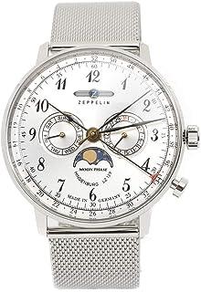 ツェッペリン ヒンデンブルク クオーツ メンズ 腕時計 7036M-1 シルバー[並行輸入品]