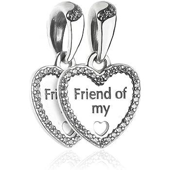 charm pandora amicizia