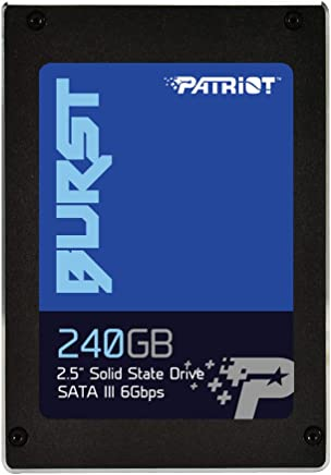 "Patriot Memory Burst SSD 240GB SATA III Internal Solid State Drive 2.5"" - PBU240GS25SSDR"
