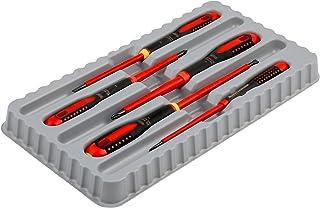 BAHCO BE-9881S 5 Piece Ergo 1000 Volt Screwdriver Set