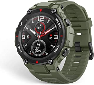 Amazfit T-Rex Smartwatch, Military Standard Certified, Tough Body, GPS, 20-Day Battery Life, 1.3'' AMOLED Display, Water R...