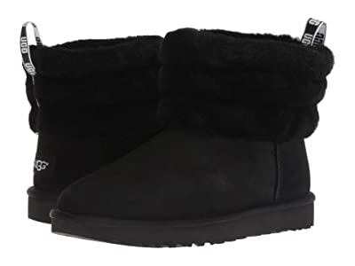 UGG Fluff Mini Quilted (Black) Women