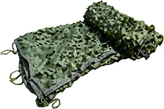 decoraci/ón de Fiesta tem/ática Militar Oxford poli/éster Woodland Military Red de Camuflaje de Malla para Acampar Caza Caza Escondido YFF-Lonas Red de Camuflaje