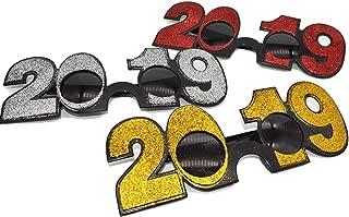 2019 new years glasses