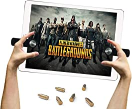 EEkiiqi Mobile Game Trigger Tablet Pad Game Controller Shoot and Aim Trigger Fire Buttons Compatible with PUBG Mobile Controller Fortnite/Knives Out/Rules of Survival for i-Pad Tablet
