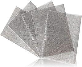 Bestine Roestvrij staal geweven gaas (20 mesh) 5 Packs, knaagdierbestendig metalen gaas blad 0.92mm gat perfect voor venst...