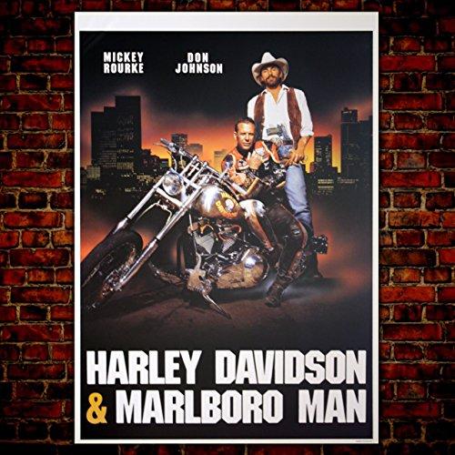 GoPoster Kinoposter Harley Davidson & Marlboro Man - Format: 70 x 100