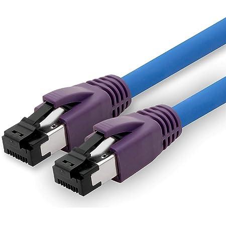 1attack De 0 25m Cat 8 Netzwerkkabel Cat8 Kabel Cat 8 Elektronik