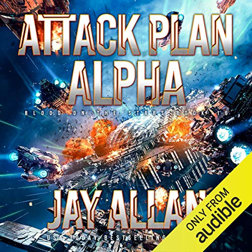 Attack Plan Alpha audiobook cover art