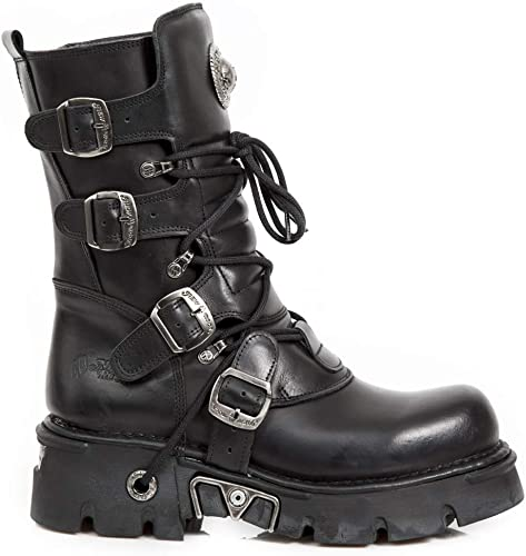 New Rock M.373 S29 negro - botas, Metálico, Unisexo