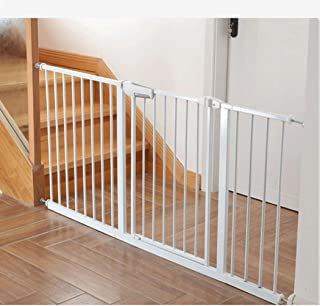 Punch-Free Baby Gates Extra Wide Fence Pet Fence Isolation Door Home Dual Lock Self Closing