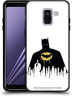 Head Case Designs - Carcasa para teléfono móvil Huawei y Samsung, compatible con Compatibilité: Samsung Galaxy A8 (2018)