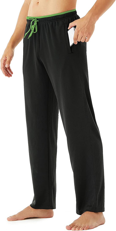 KINRO Men's Lightweight Sweatpants Open Gym Max Oklahoma City Mall 43% OFF Workout Bottom Runni