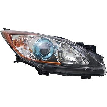 TYC 20-9086-01-1 Mazda 3 Left Replacement Head Lamp