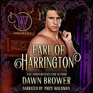 Earl of Harrington audiobook cover art