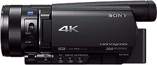 Sony Handycam FDR-AX100E - Videocámara de 14.2 MP con Pantalla de 3.5 y WiFi Negro