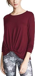 Bestisun Yoga Tops Long Sleeve T Shirts Cute Sweatshirts Fall Winter Workout Clothes for Women